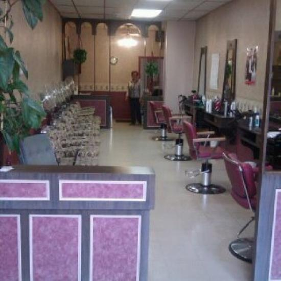 Interior painting of Dianne's Beauty Parlour