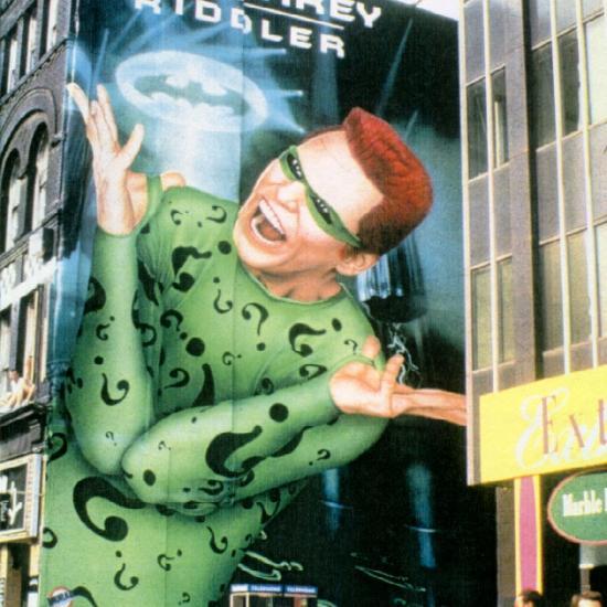 Jim Carrey as Riddler